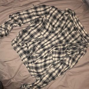 Black & white flannel